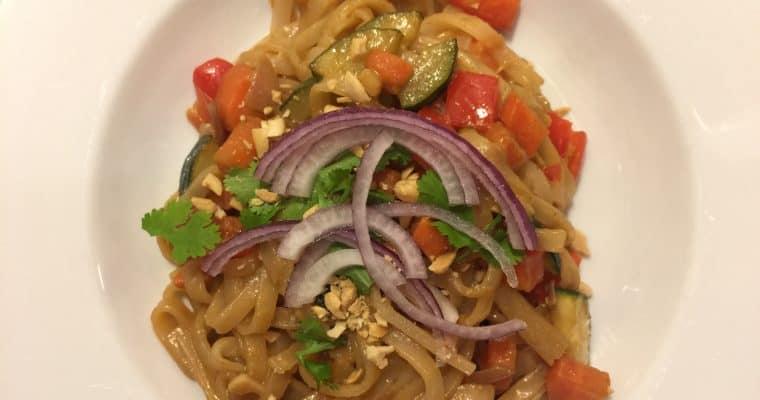Pad Thai Noodles – vegan