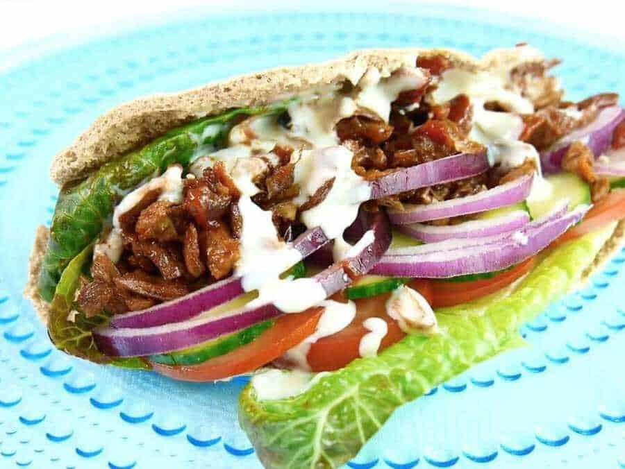 Vegan Dönner Kebab